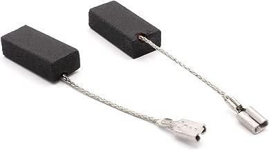 Balais de Charbon pour BOSCH POF 800 ACE d/éfonceuse 6,3x12,5x22mm 2.4x4.7x8.7
