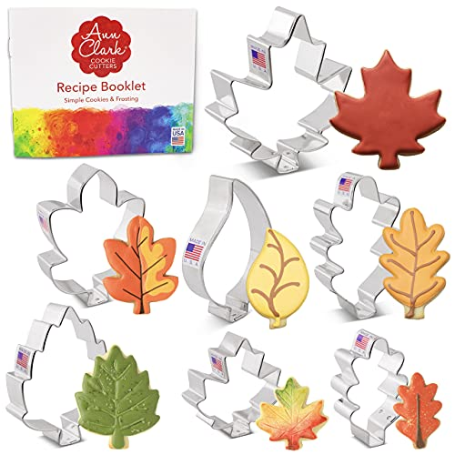 Leaf Shaped Cookie Cutters