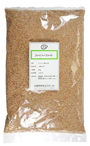国産ロースト小麦ふすま ファイバーファイト 鳥越製粉 500g ブラン