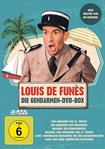 Louis de Funès - Die Gendarmen-DVD-Box