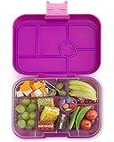 Yumbox Original M Lunchbox (Bijoux Purple, 6 Fächer) - mittelgroß | Brotdose mit Trennwand Einsatz | Bento Box für Kindergarten Kinder, Schule
