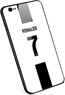 iPhone 6 Plus Cases, Tempered Glass iPhone 6s Plus case with Clear Ring Kickstand Black Cover Rotating Stand Case for iPhone 6/6s Plus 5.5 Juventus Football Club s.p.a #7