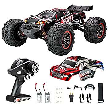 FLYHAL X04 PRO Remote Control Car RC Car 52km/h 32MPH 1 10 Scale 4WD Off-Road Rc Car for Adults and Kids Replaceable Car Shell 2.4 GHz Truck  2 Batteries