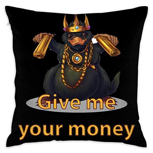 Without Gangster Niffler Decorative Lumbar Pillow Covers Case Pillowcases Kissenbezüge (45cmx45cm)
