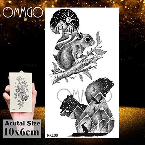 Verano Estilo 5Pcs- triángulo geométrico Cadenas tatuaje de la etiqueta engomada para niñas tatuaje del arte de cuerpo de brazo tatuajes, el tatuaje En Gro Ork109