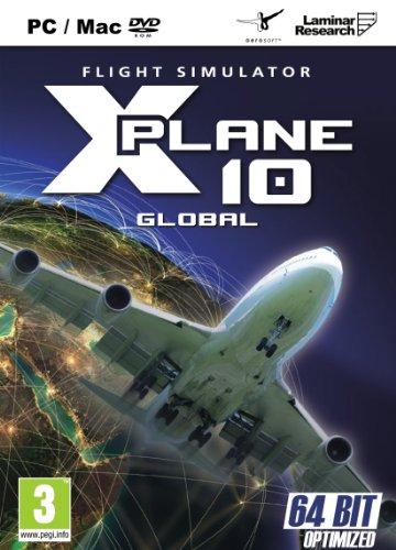 X Plane 10 Global - 64 Bit & 32 Bit (PC DVD) [Edizione: Regno Unito]