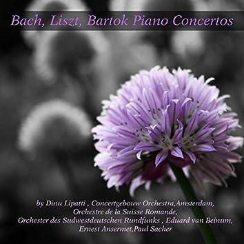 Bach, Liszt & Bartok: Piano Concertos