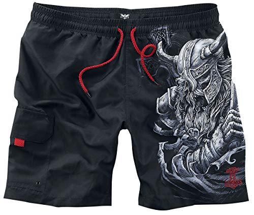 Black Premium by EMP Swimming Time Männer Badeshort schwarz M 100% Polyester Basics, Casual Wear
