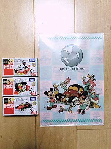 トミカ ディズニー モータース ミッキーマウス 90th アニバーサリーエディション セブン&アイ 3台セット ...