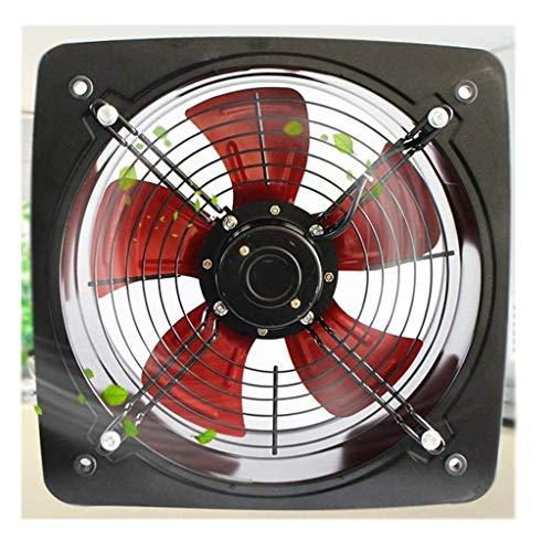 Yousiju Extractor de baño, extractor de cocina, cocina, baño, 14 pulgadas, tipo ventana, ventilador de ventilación
