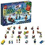 LEGO City Advent Calendar 60303 Building Kit; Includes City Play Mat; Best Christmas Toys for Kids; ...
