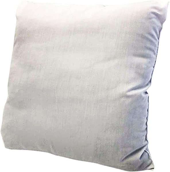 Ram Home Pillow Insert Polyester Made Machine Washable Odorless And Hypoallergenic 18 W X 18 L White