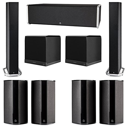 Amazing Deal Definitive Technology 7.2 System with 2 BP9060 Tower Speakers, 1 CS9040 Center Channel ...