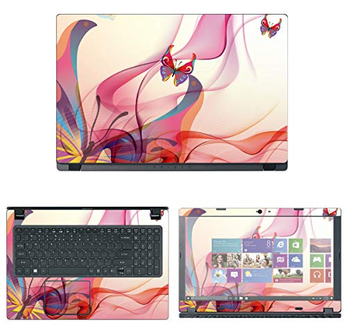 Decalrus - Protective Decal Skin Sticker for Acer Aspire 3 A315-53 (15.6