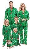 PajamaGram Fun Family Christmas Pajamas - Charlie Brown, Green, Women, 3X, 24-26