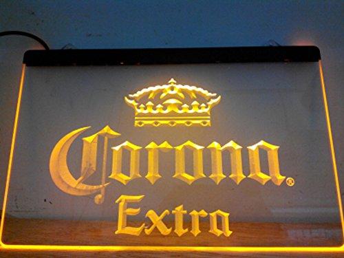 Corona Extra LED Zeichen Werbung Neonschild Gleb