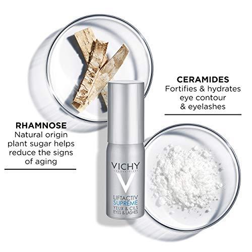 51Ti+Vann2L - Vichy LiftActiv Serum 10 Eyes and Lashes Serum, Anti Aging Eye Treatment & Eyelash Serum with Hyaluronic Acid, Ophthalmologist Tested, 0.51 Fl Oz