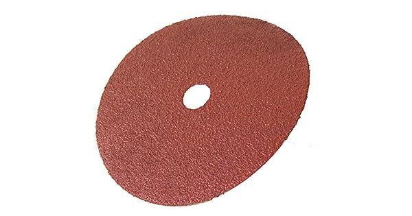 24 Grit 4-1//2 x 7//8 4-1//2 x 7//8 Center Hole Precision Abrasives 52-0031 Aluminum Oxide Resin Fiber Disc