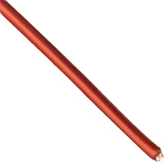 """Remington Industries 30SNSP.5 30 AWG Magnet Wire, Enameled Copper Wire, 8 oz, 0.0108"""" Diameter, 1606` Length, Red"""
