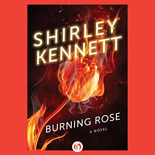 Burning Rose audiobook cover art