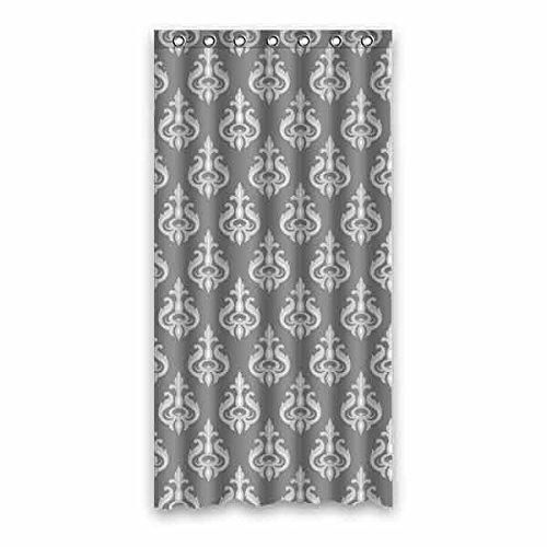 Nahtlose Geometrische Muster-Grau 100prozent Polyester wasserdicht Duschvorhang, schimmelfest Generic Badezimmer Vorhang 91,4x 182,9cm (90cm x 183cm), Polyester, a, 36