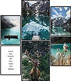 ARTORIA | Premium Poster Set - Goldener Hirsch | Ohne