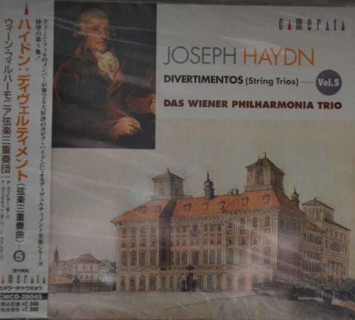 Joseph Haydn Divertimenti Vol.5 (Streichtrios 25-29)