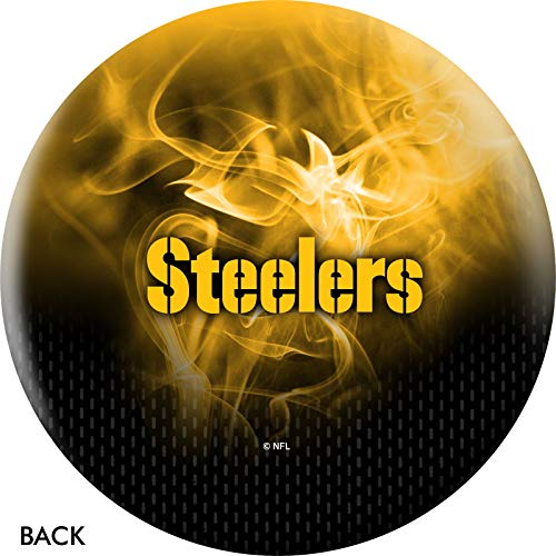 NFL Pittsburgh Steelers On Fire Undrilled Bowling Ball