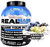 Real Pharm Real Mass Weight Gainer – 3632 g (bayas de vainilla)