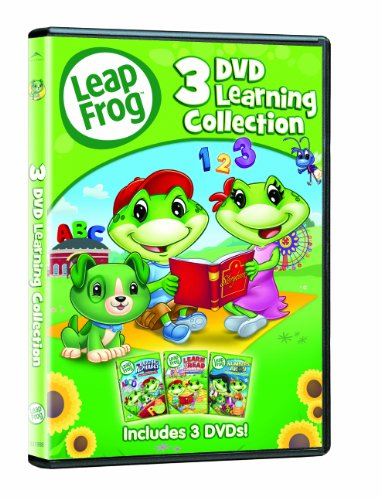 LeapFrog Learning Collection : The Amazing Alphabet Amusement Park / Learn to Read at the Storybook Factory / Numbers Ahoy