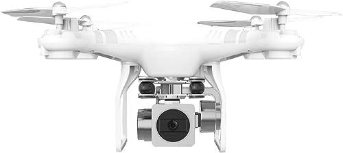 Fenghong Drone avec caméra, SH5 HD WiFi 4 Axes 2.0MP Grand Angle Altitude ESC Quadcopter Drone