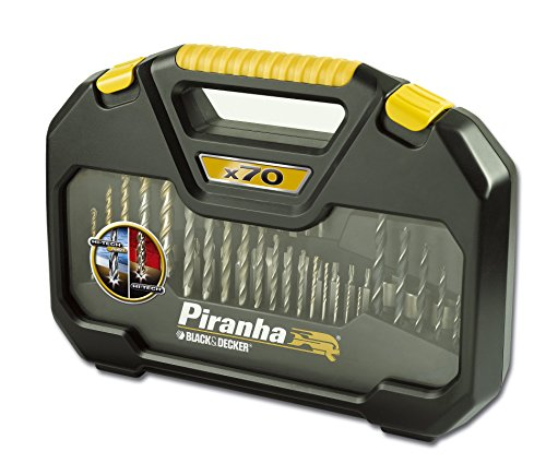 Piranha Set de forets Hi-Tech et Bullet 70 pièces
