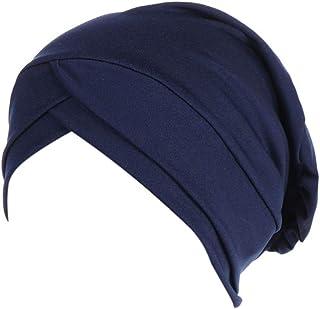 مسلم الحجاب النساء حريري القطن عمامة القبعات أغطية الرأس تشيمو بيني حجاب أغطية الرأس النوم تحت الوشاح