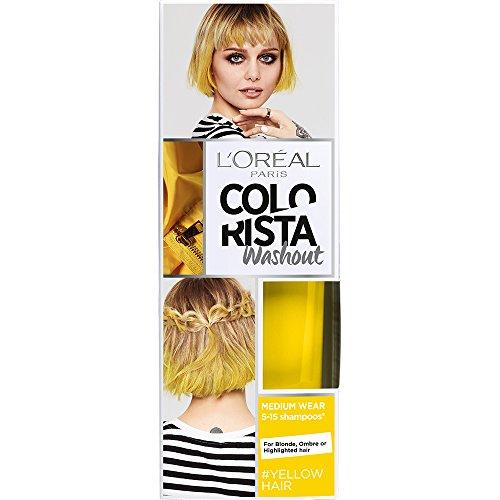 L'Oréal Paris Colorista Washout Pastel Colorazione Temporanea Capelli, Giallo (Yellow)