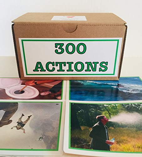 300 Actions—-Real Color Photographs of Actions progressing from Very Simple to More Complex.