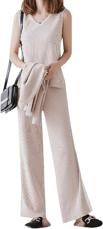 Winme Women Big & Tall Baggy Style Sweater Top Jogger Pants 3pcs