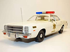 Greenlight 19055 1: 18 Artisan Collection - 1977 Plymouth Fury - Hazzard County Sheriff, Multi