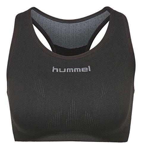 hummel Damen First Comfort Wo Bra Sport Bh, schwarz (Black), XL/XXL