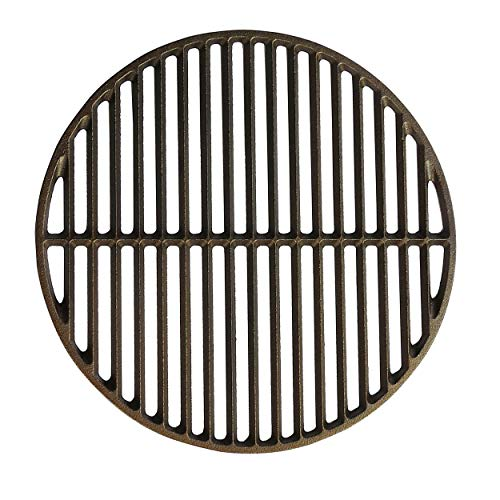 Dracarys 15' Cast Iron Grate Grids Sear Grate Fire Pit, Round Cooking Grate Big Green Egg...