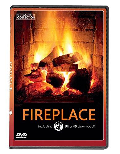 FEUER DVD | KAMINFEUER mit 4K ULTRA HD Download mit langen Holzfeuern und Geräuschen von brennendem Holz