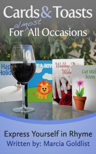 Cards & Toasts For Almost All Occasions (Express Yourself in Rhyme Book 2) (English Edition)