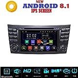 Android 7.1GPS DVD USB SD Wlan Bluetooth Autoradio 2Din NAVI Mercedes E-Klasse W211/Mercedes G-Klasse W463/Mercedes CLK-Klasse W209/CLS-Klasse W219/E200/E220/E240/E270/E280/E300