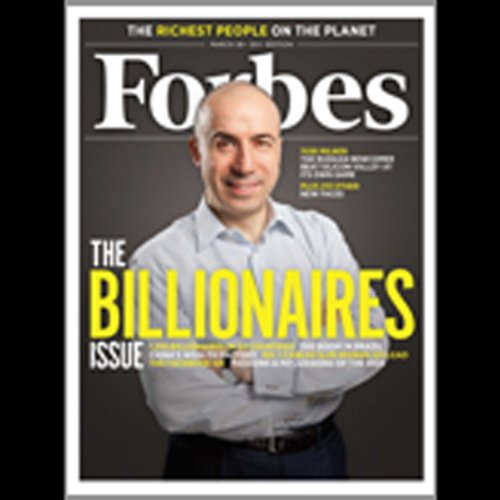 Forbes, March 14, 2011 audiobook cover art