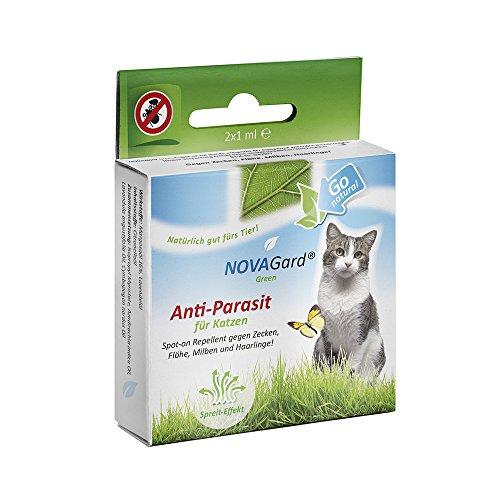 NOVAGard Green NG0011 Anti - Parasit für Katzen, Spot-on