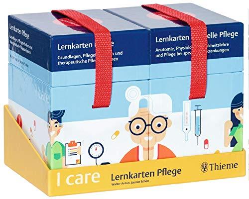 I care Lernkarten Pflege – Set (im Schuber): Grundlagen, Pflegetechniken und therapeutische Pflegeaufgaben