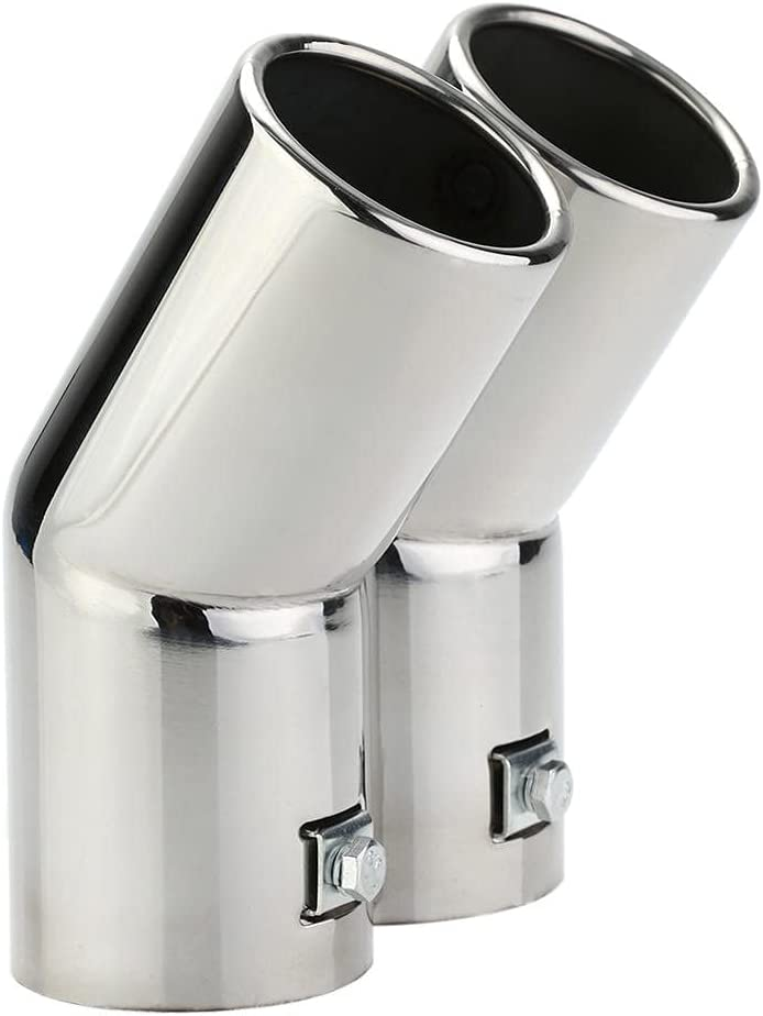 NFRADFM Exhaust Tail Pipe Durable Head T Manufacturer OFFicial shop Stainless Steel We OFFer at cheap prices