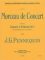 ペネクィン, J. G.: 演奏会用小品/ルデュック社/トランペットとピアノ