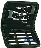 miglior Awans, set in acciaio inox per manicure e pedicure