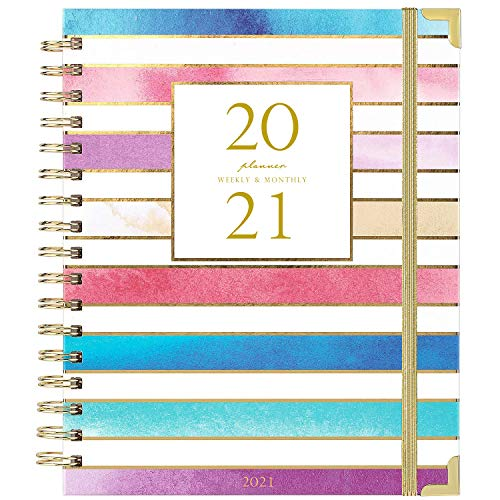2021 Planner - Weekly & Monthly Planner...