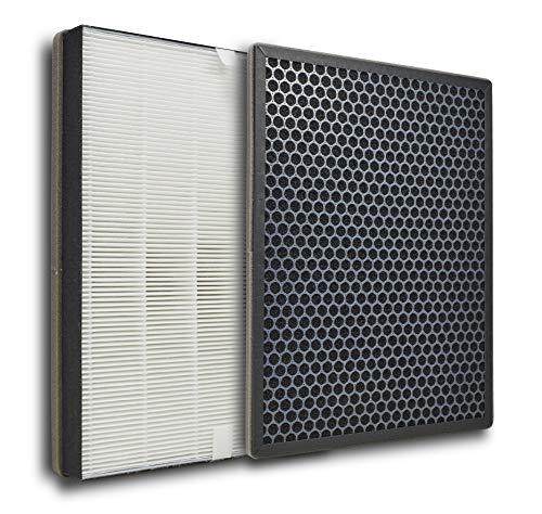 Supremery Ersatzfilterset für Philips AC2889, AC2887, AC2882 und AC3829/10 Luftreiniger | HEPA und Aktivkohle-Filter | Alternative zu Philips FY2422/30 und FY2420/30 Filter